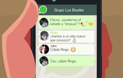 Vídeo: El grupo de Whatsapp de Los Beatles sería así de hilarante