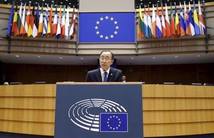 """Ban reclama a la UE medidas """"para salvar vidas"""" en el Mediterráneo"""