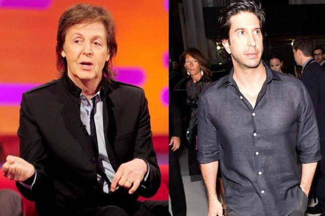Paul McCartney y David Schwimmer