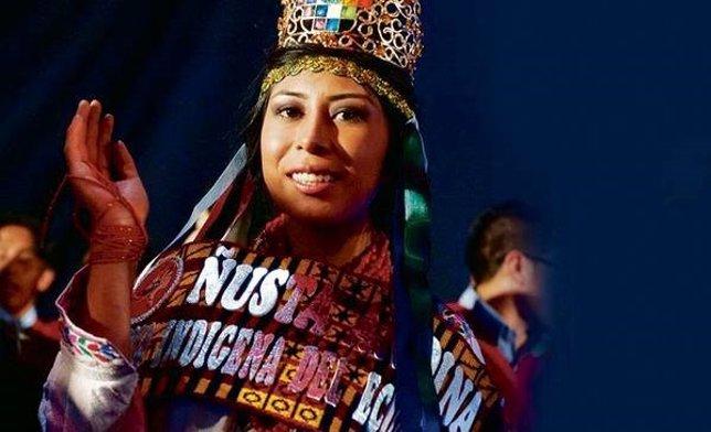 Reina Indígena de la Belleza