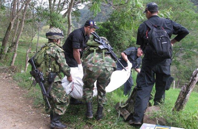 Soldados muertos enfrentamiento con las FARC