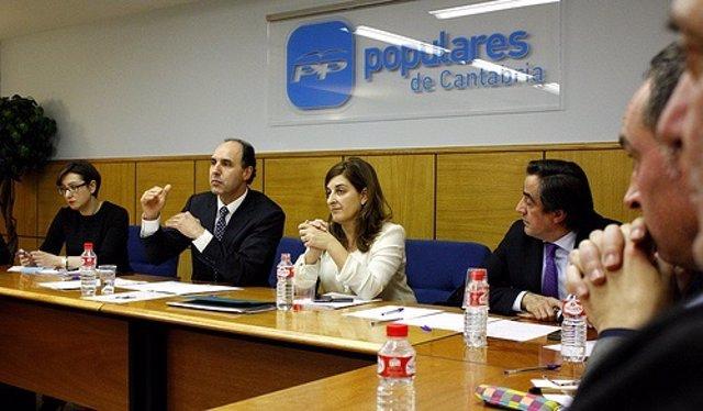 Comité Ejecutivo del PP cántabro. Imagen de archivo