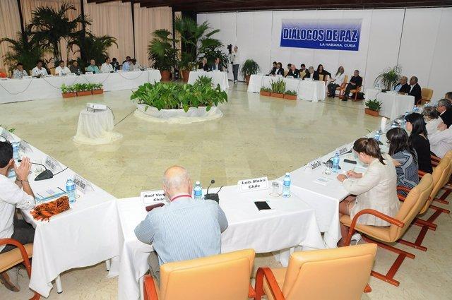 Ciclo de diálogos de paz en La Habana