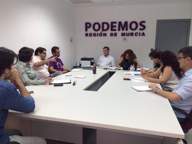 Imagen del Consejo de Coordinación de Podemos