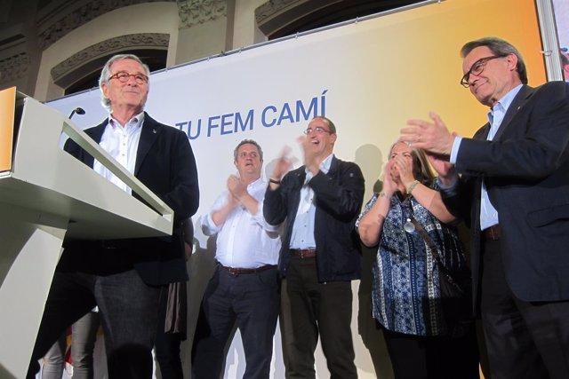Xavier Trias valora el resultado de las elecciones en Barcelona