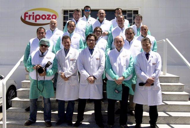 La sociedad gastronómica Club Murcia Gourmet visita Fripozo
