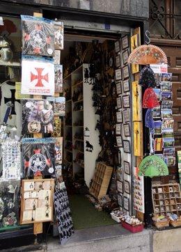 Tienda, comercio, comprar, artesanía