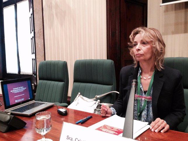 La responsable de Salud Mental de la Conselleria de Salud, Cristina Molina