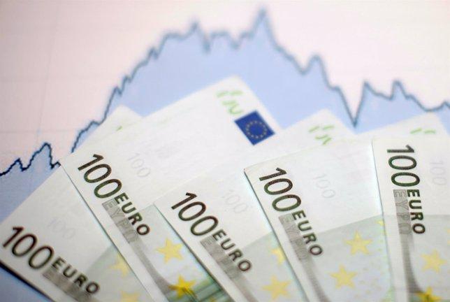 Billetes de 100 euros.