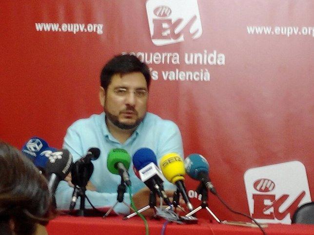 Ignacio Blanco en rueda de prensa