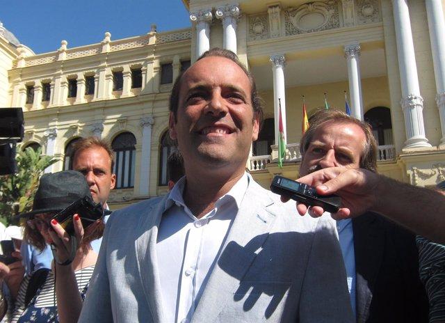 Juan Cassá, líder de Ciudadanos (C's) en Málaga, concejal electo