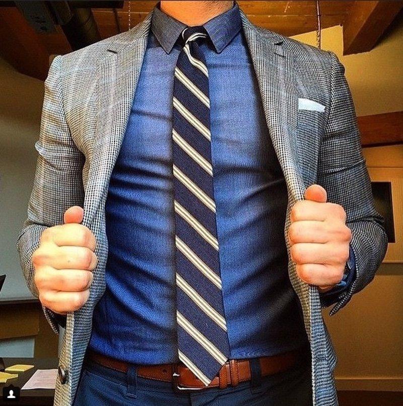 bfa197cd 7 reglas de oro para llevar corbata que todo hombre debería saber
