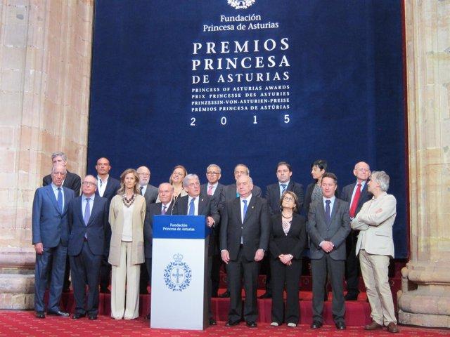 Jurado Princesa de Asturias Investigación Científica y Técnica 2015