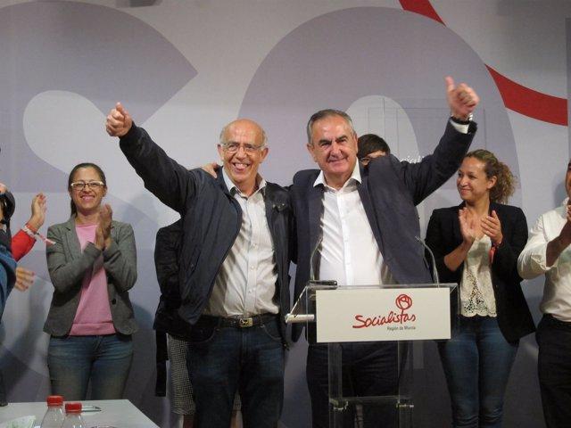 Tovar y Gras, en la rueda de prensa tras las elecciones