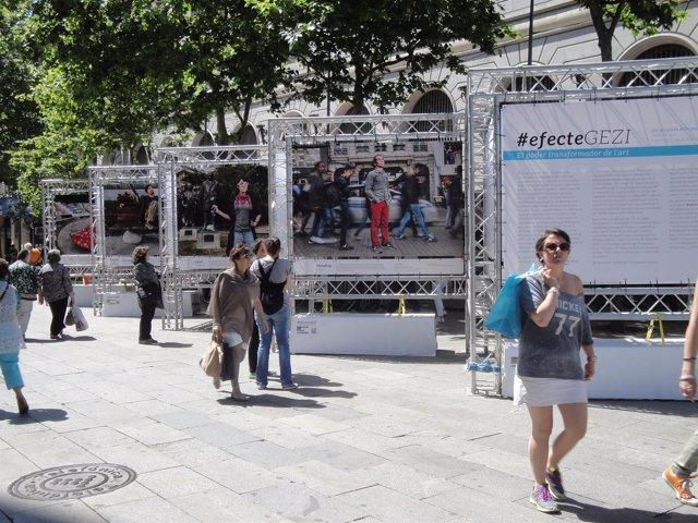 Exposición Efecte Gezi en Barcelona