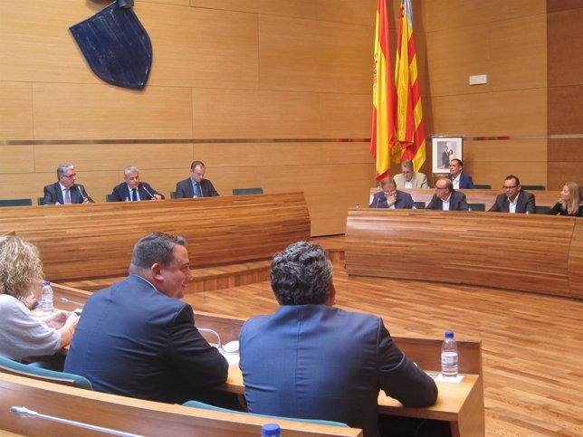 Plano extraordinario Diputación de Valencia