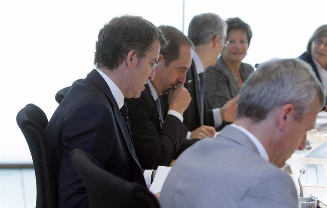 O presidente da Xunta, Alberto Núñez Feijóo, presidirá a reunión do Consello d