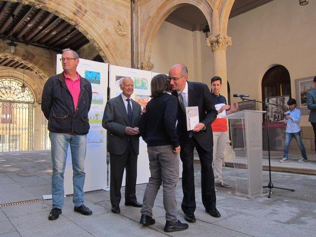 Entrega de los Premios de dibujo 'Venancio Blanco'.