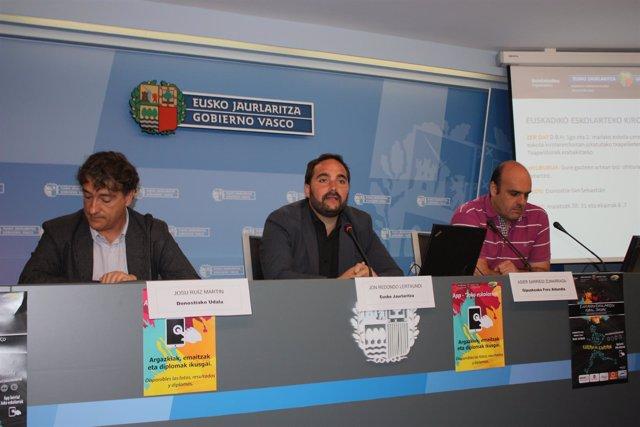 Presentación de los Juegos Deportivos Escolares.