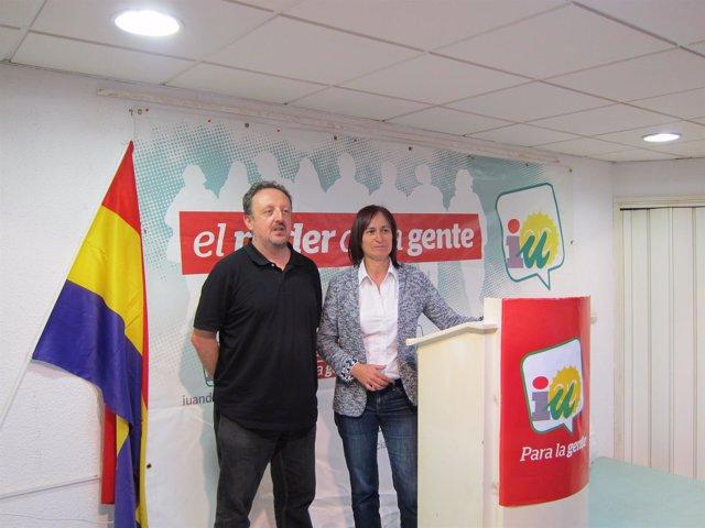 Rodrigo González y Rosalía Martín