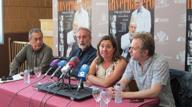 Ulloa y De Castro en rueda de prensa