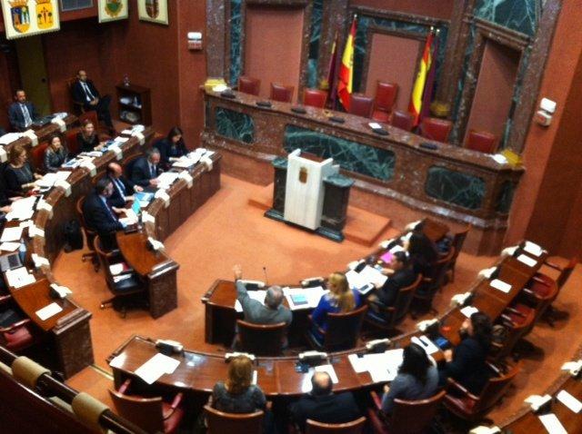 Hemiciclo en la Asamblea Regional
