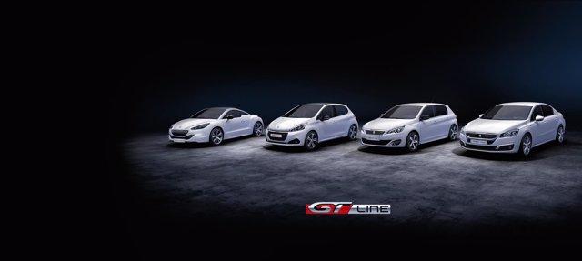 Gama GT Line de Peugeot