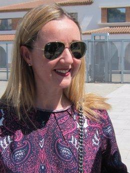 La candidata de C's a la Alcaldía de Zaragoza, Elena Martínez Ortín
