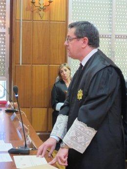 El secretario de la Sala de Gobierno del TSJRM, Francisco José García Rivas