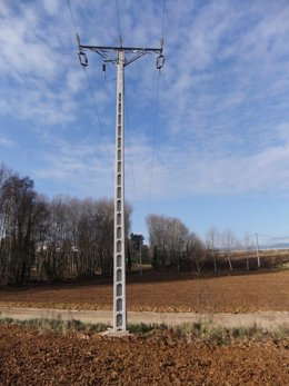 Nuevos postes en Fornells de la Selva (Girona)