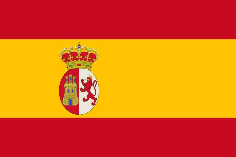 Resultado de imagen de bandera de españa
