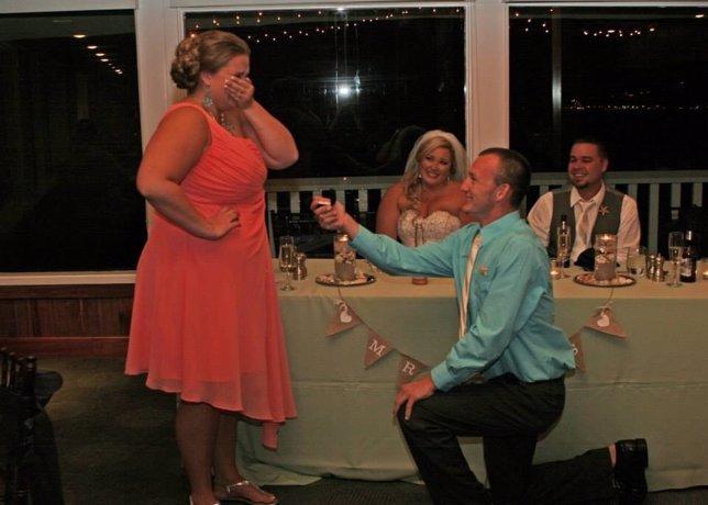 La peor pesadilla para una novia el día de su boda