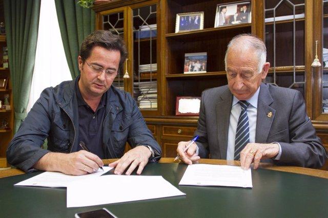 Góngora y Amat firman el convenio