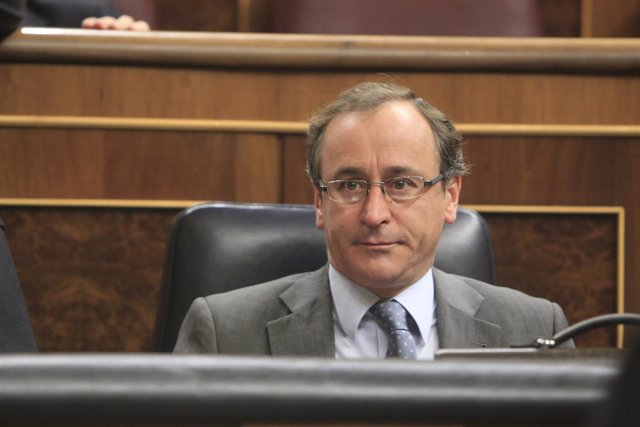 Alfonso Alonso en el Congreso