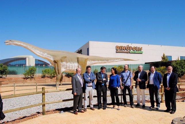 Inauguración de la nueva zona de Dinópolis, Tierra Magna, este jueves