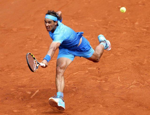 Rafa Nadal gana a Nico Almagro en Roland Garros