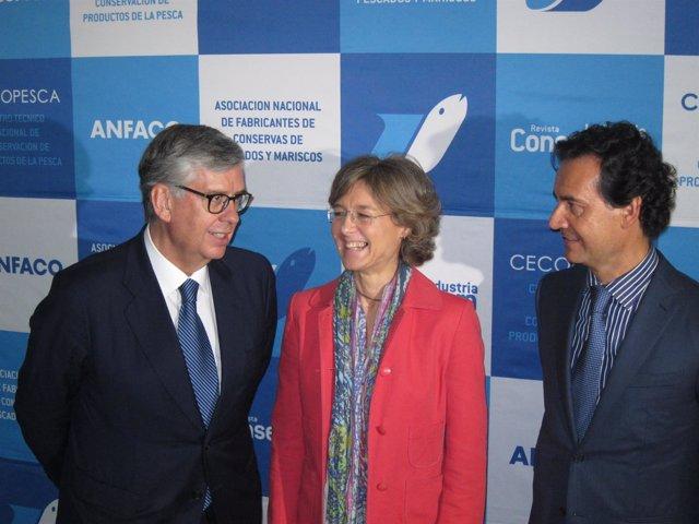 Isabel García Tejerina en Anfaco