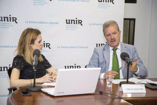 Campo Vidal en Congreso de la UNIR