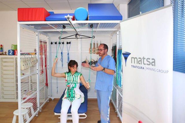 Método de rehabilitación para niños con parálisis cerebral.