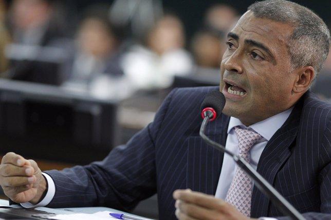 Ex futbolista Romário de Souza