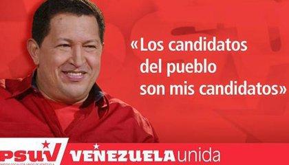 Chávez revive para una campaña política de Maduro