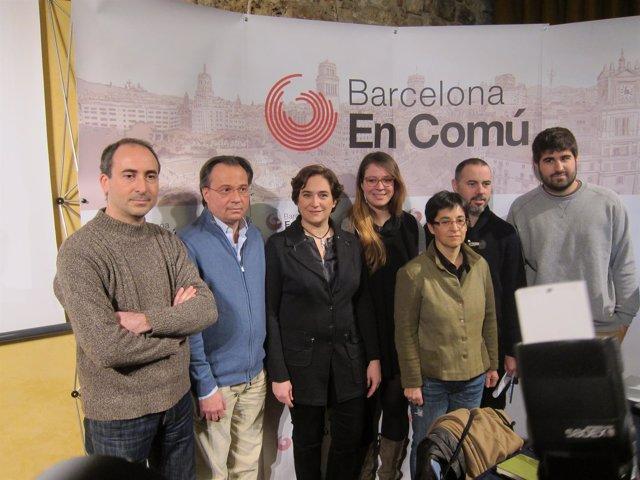 Miembros de Barcelona en Comú, candidatura de las elecciones municipales 2015