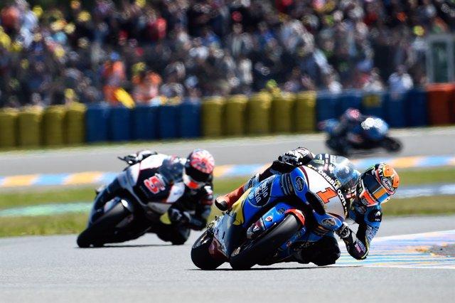 Rabat manda por delante de Zarco en Le Mans