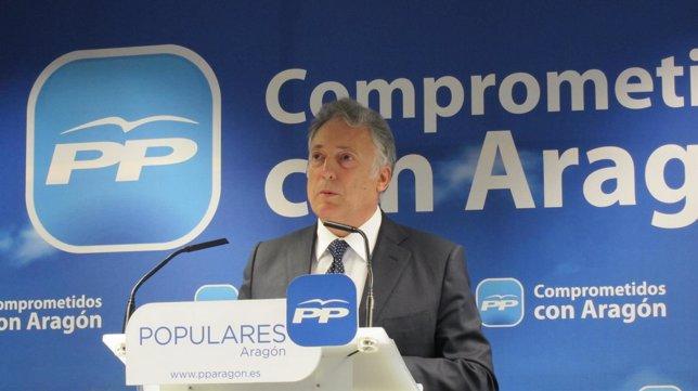 El secretario general del PP Aragón, Octavio López