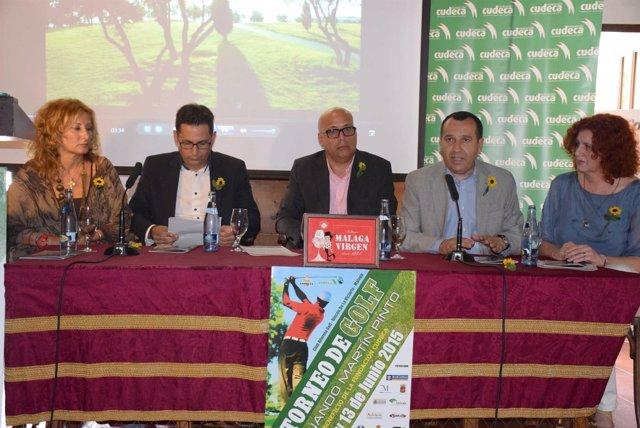 El delegado del Gobierno andaluz, José Luis Ruiz Espejo, en un acto de Cudeca