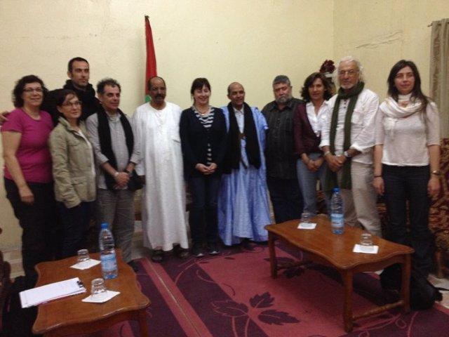 Visita a los campamentos saharauis