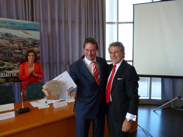 Entrega del premio Alumni España-Banco Santander