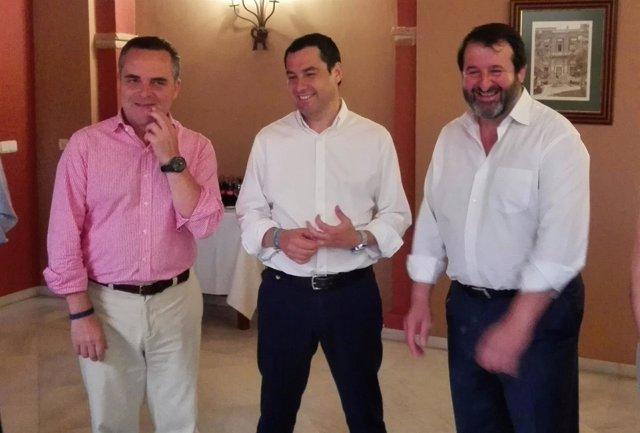 Bueno, Moreno y Ávila, en Carmona