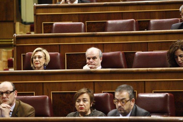 Rosa Díez y Carlos Martínez Gorriarán.