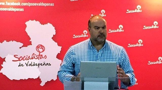 Fausto Marín diputado del PSOE